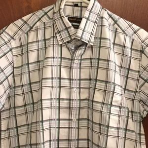 Young men button up PERRY ALLEY size 15 1/4in/40cm